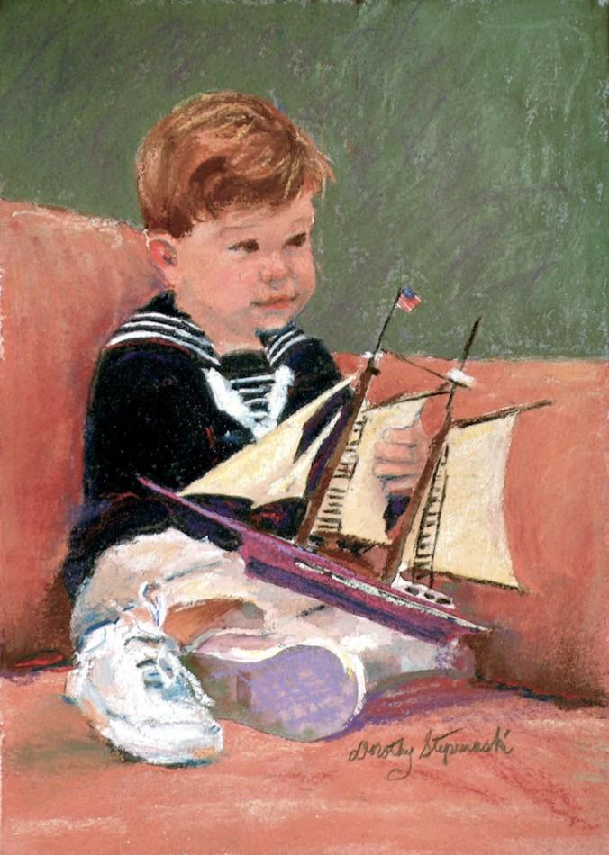 wbPastel - Collins Portrait